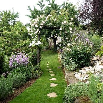 Jardin de l 39 alme - Arche pour rosier grimpant ...